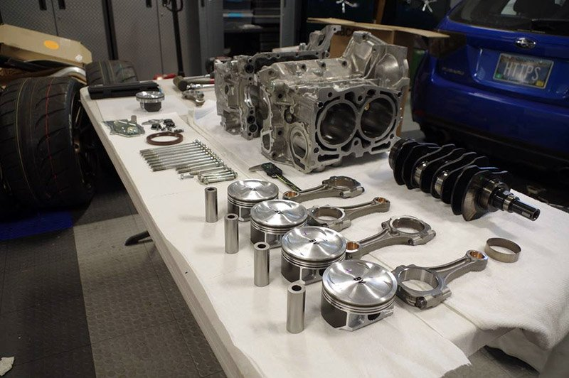 Subaru WRX STI Type RA Internal Differences (US) | Pistons